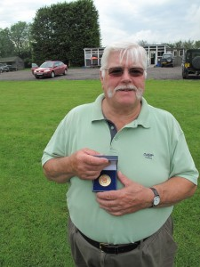 With a score of 89/ 100, Alan Bott won the Veterans Class at the East Midlands Skeet Doubles, held on July 8th 2012