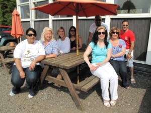 The Urgo Sales team with their Managers, enjoying the sunshine