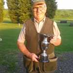 Our mate Mick Hennly with his new yearly Trophy